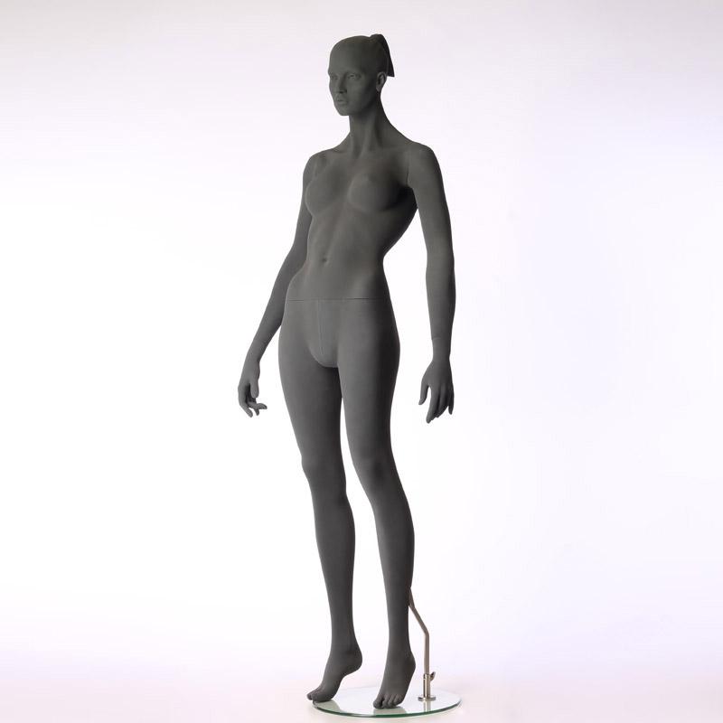 Pure – Stilisierte Damenfigur – mit raue Oberfläche – aufrecht stehend - Hindsgaul